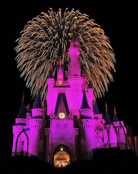 Magic Kingdom Photograph - Disney Magic by Benjamin Yeager