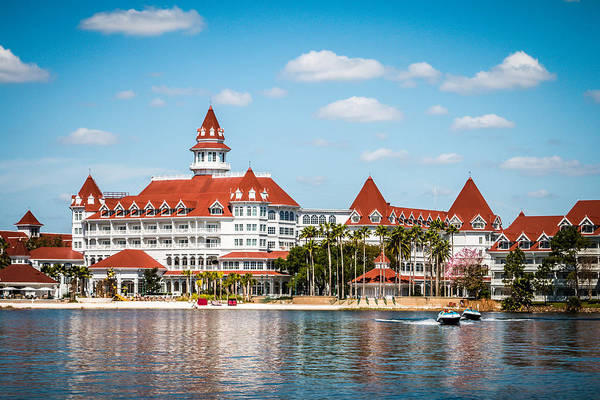 Orlando Wall Art - Photograph - Disney's Grand Floridian Resort And Spa by Sara Frank