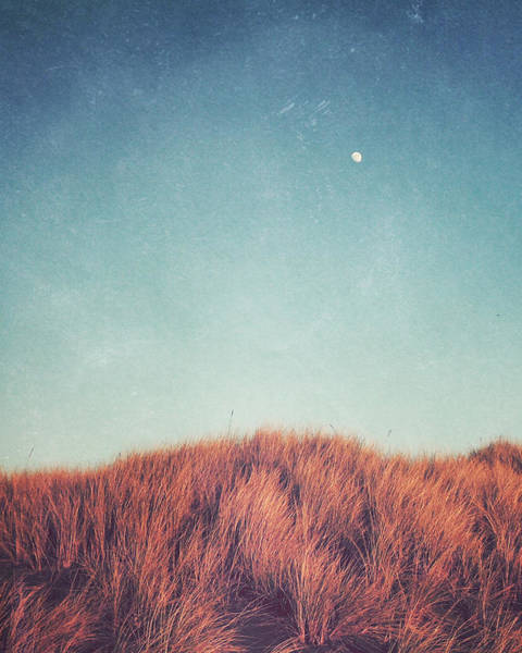 Sienna Photograph - Distant Moon by Lupen  Grainne