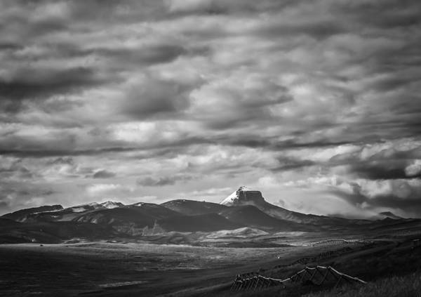 Photograph - Distant Mountains by Thomas Young