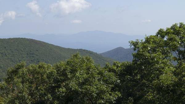 Photograph - Distant Peak - Blue Ridge Mountains by MM Anderson