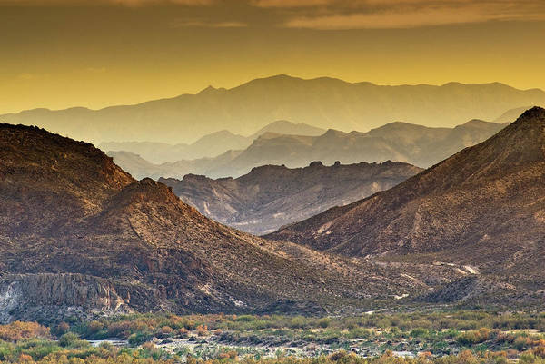 Chihuahua Photograph - Distant Ranges Of Sierra Madre In by Witold Skrypczak