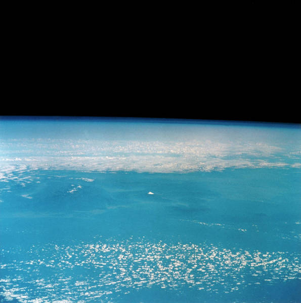 Wall Art - Photograph - Distant View Of Japan Coast by Nasa/science Photo Library