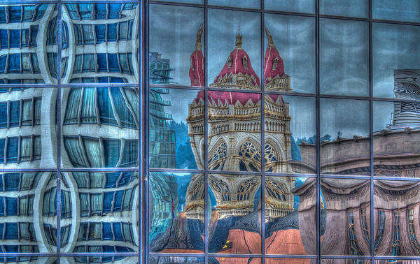 Photograph - Distorted Portland by Jean Noren