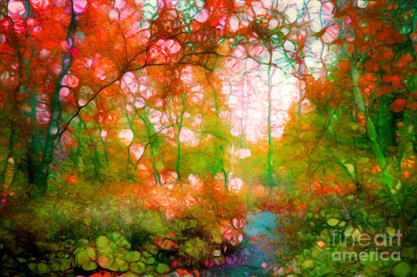 Photograph - Distortions Of Autumn by Tara Turner