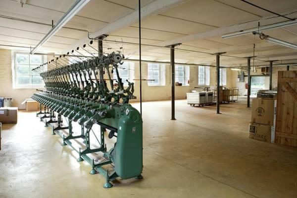 Textile Mill Photograph - Disused Old Textile Mill by Mark Sykes