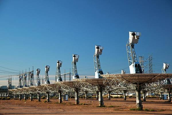 Maricopa Photograph - Disused Solar Power Plant by Jim West