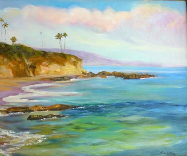 Laguna Beach Painting - Divers Cove by Renuka Pillai
