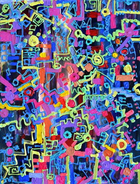 Painting - Divertissment by Regina Valluzzi