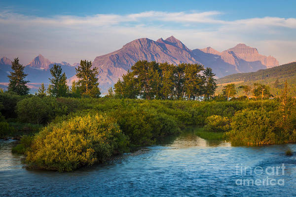 Divided Photograph - Divide Creek Morning by Inge Johnsson