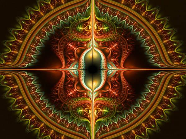 Julian Digital Art - Divided Illusions by Ester  Rogers