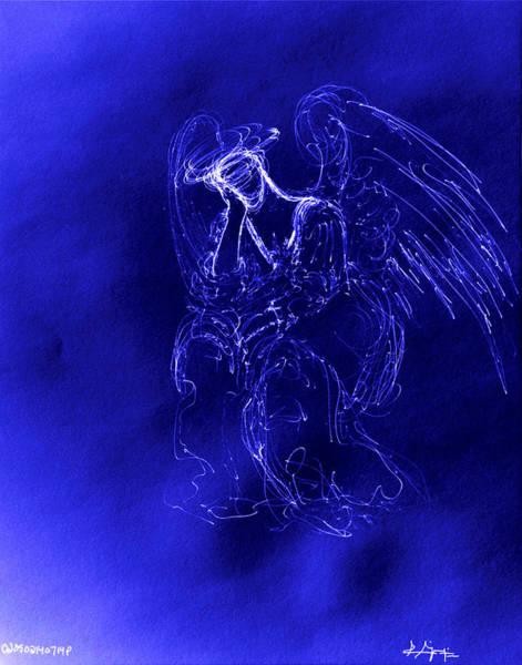 Mixed Media - Divine Angel by Giorgio Tuscani
