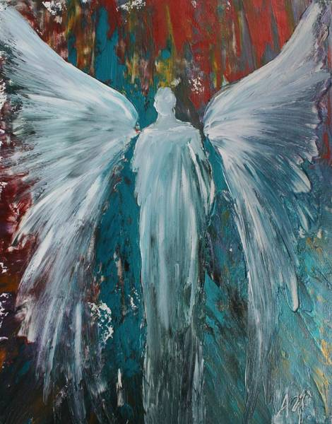 Angelic Beings Painting - Divine Channel by Alma Yamazaki