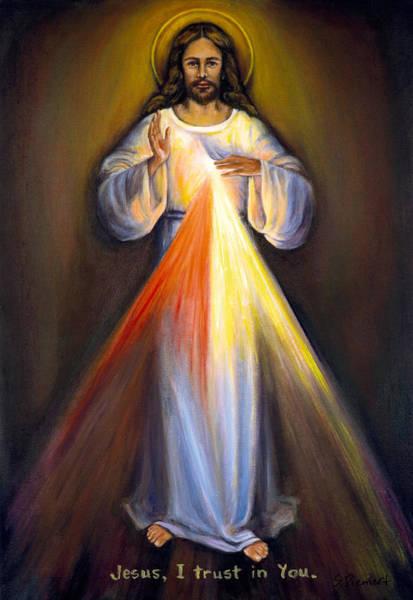 Art In Canada Painting - Divine Mercy I by Sheila Diemert