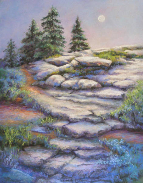 Painting - Divine Moonshine by Denise Horne-Kaplan