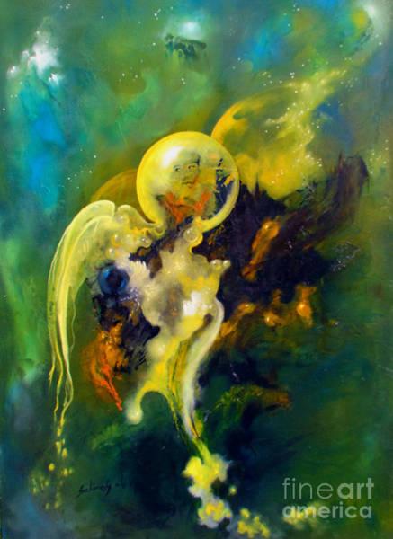Painting - Divine Pharao by Alexa Szlavics
