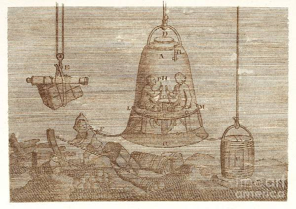 Diving Bell Photograph - Diving Bell by David Parker