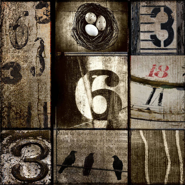 Wall Art -  - Divisible By Three by Carol Leigh