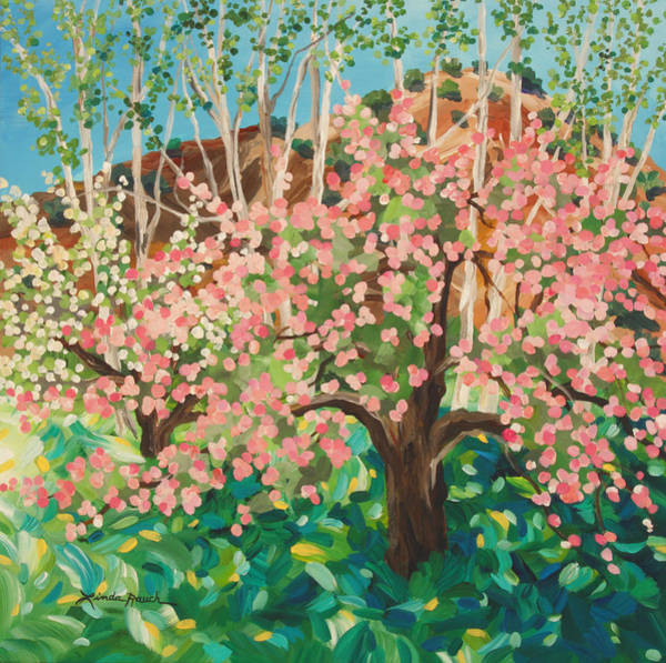 Painting - Dixon Orchard by Linda Rauch