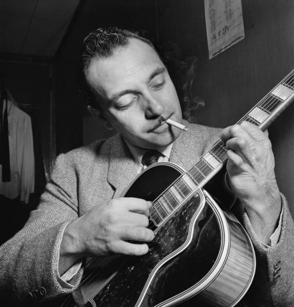 Wall Art - Photograph - Django Reinhardt (1910-1953) by Granger