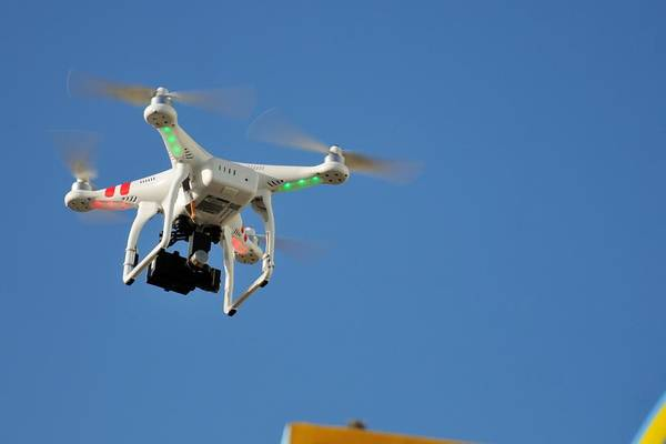 Photograph - Dji Phantom 2 Quadcopter Drone And Gopro by Bradford Martin