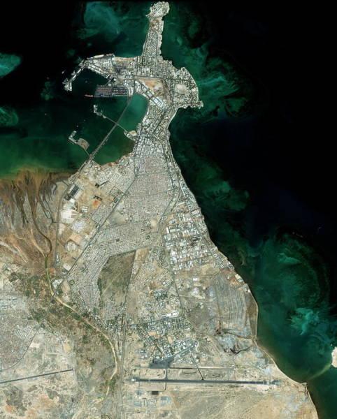 Wall Art - Photograph - Djibouti City by Geoeye/science Photo Library