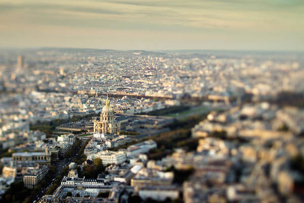 French Quarter Photograph - Dôme Des Invalides, Tilt Shift by Hal Bergman Photography