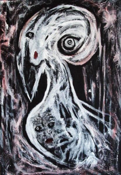 Painting - Do I Look Strange? by Katerina Apostolakou