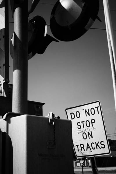 Photograph - Do Not Stop Dancing On Tracks by Jason Politte