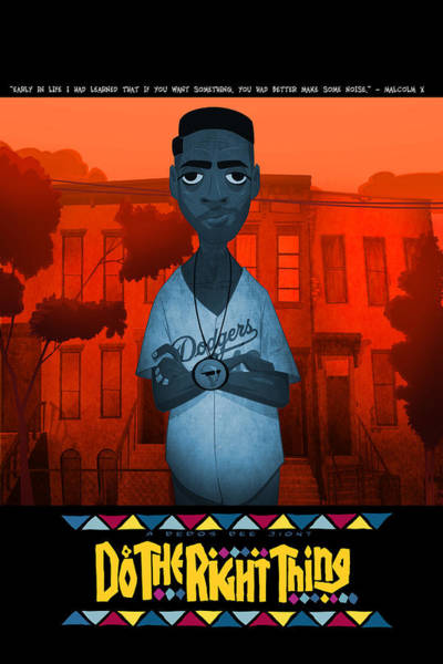 Style Digital Art - Do The Right Thing 2 by Nelson Dedos Garcia