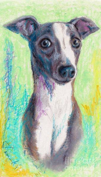 Oil Pastels Drawing - Do You Get Excited Easily? Yes I Do. by Tamaki Hamano