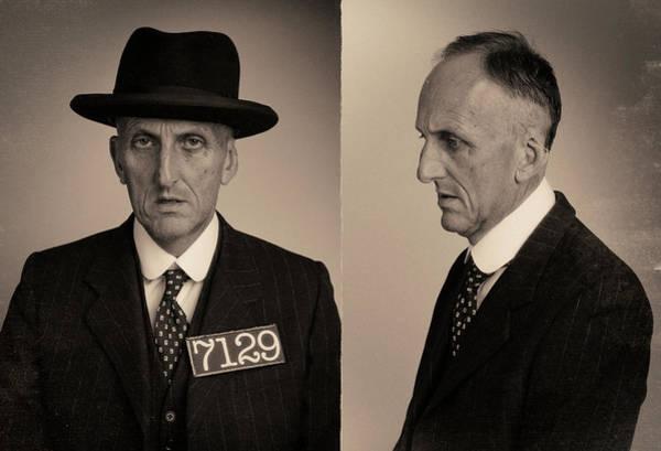Mug Photograph - Doc Skin Wanted Mugshot by Nick Dolding