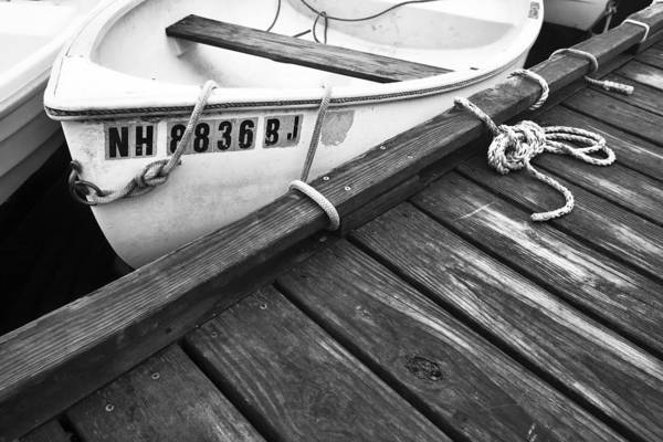 Wall Art - Photograph - Dock And Ropes by Eric Gendron