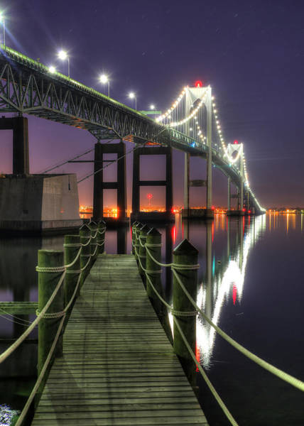 Newport Ri Wall Art - Photograph - Dock At Dawn by Jeff Bord