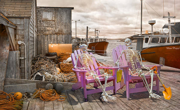 Halifax Wall Art - Photograph - Dock Buddies by Betsy Knapp
