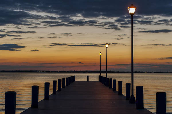 Dock Of The Bay Photograph - Dock Of The Bay Seaside New Jersey by Terry DeLuco