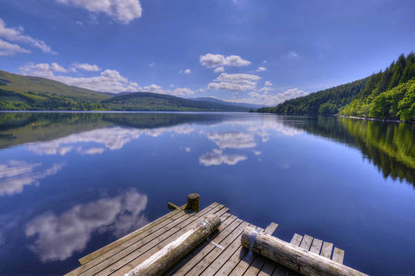 Photograph - Dock On Loch Tay by Matt Swinden