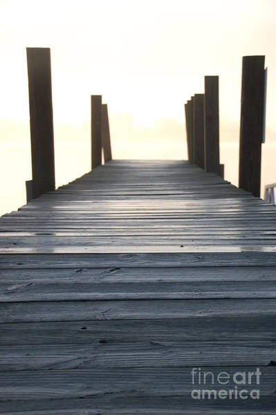 Photograph - Dock Sunrise On The River by Randy J Heath