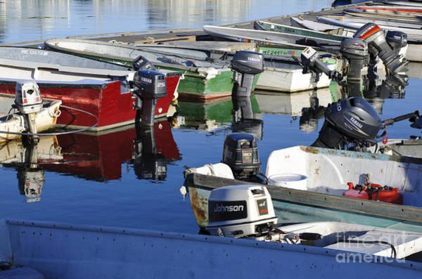 Stonington Photograph - Docked Boats by John Shaw