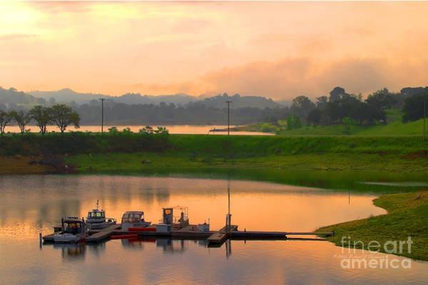 Photograph - Docked Boats by Richard J Thompson