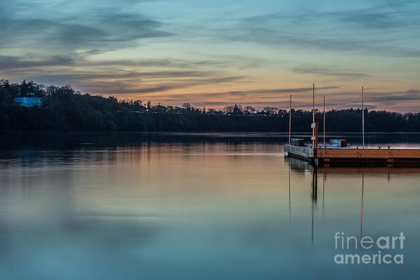 Lewiston Photograph - Docking by Chuck Alaimo