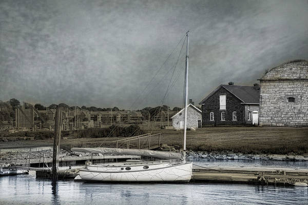 Photograph - Dockside Newport by Robin-Lee Vieira