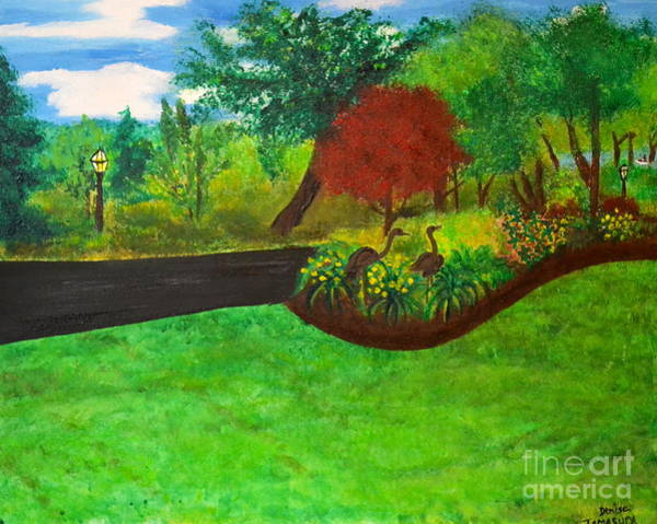Painting - Doc's Landscape by Denise Tomasura