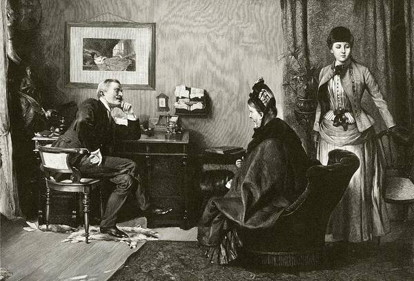 Doctor Office Photograph - Doctor Consultation by National Library Of Medicine