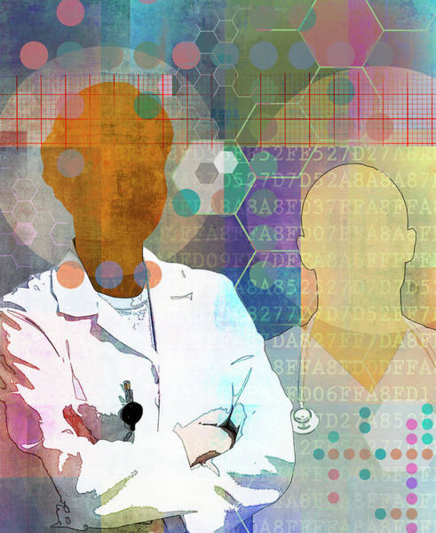 Wall Art - Photograph - Doctors And Medical Research by Ikon Images