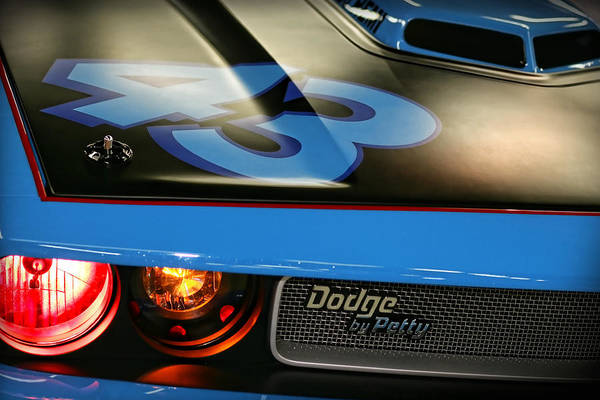 Plymouth Superbird Photograph - Dodge By Petty by Gordon Dean II