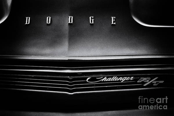 Challenger Photograph - Dodge Challenger R/t by Tim Gainey