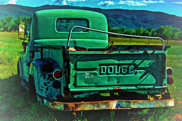 Photograph - Dodge Ix by Charles Muhle