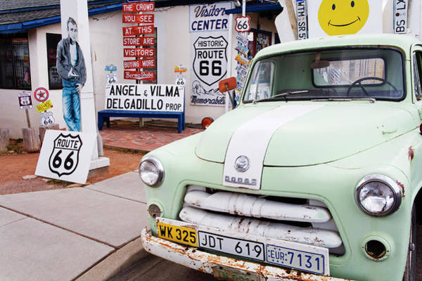 Wall Art - Photograph - Dodge Truck At Route 66 Museum by Richard Cummins