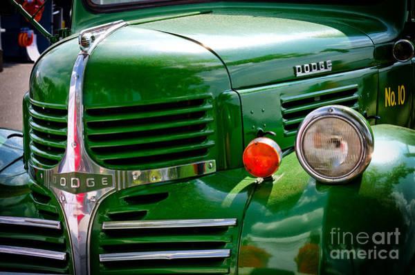 Photograph - Dodge Truck by Les Palenik